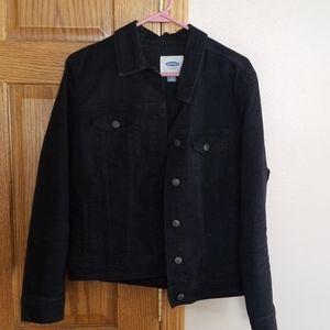 Womans black Jean jacket